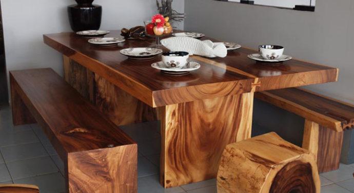 Как очистить деревянный стол