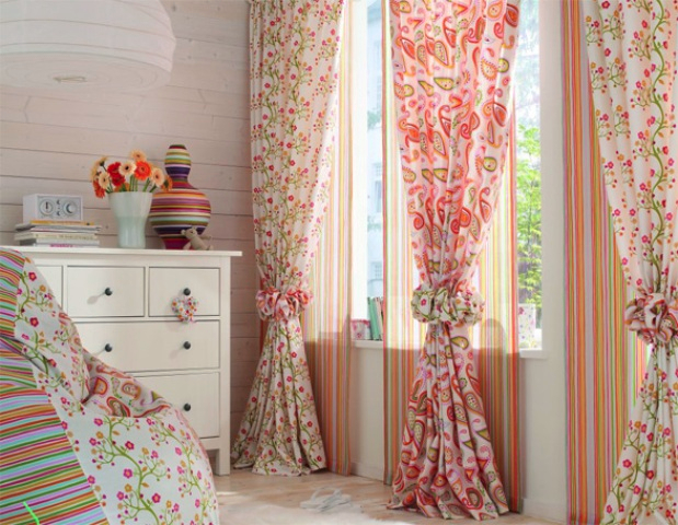 4 хитрости как применить старые шторы