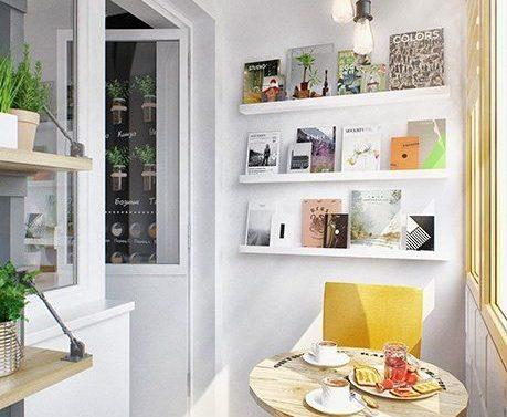 Как украсить маленький балкон