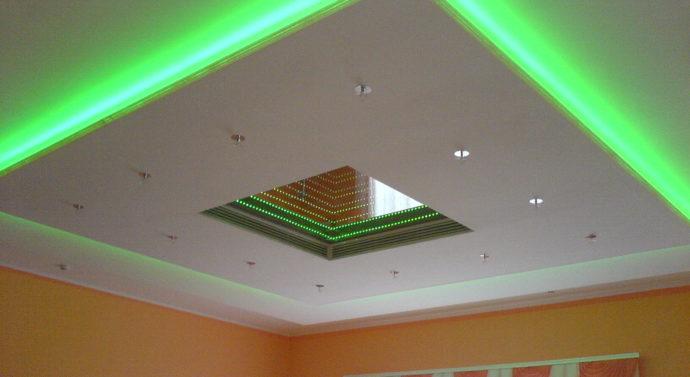 Как сделать подвесной потолок