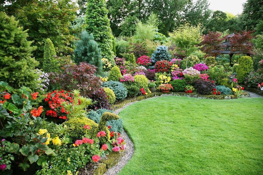 6 интересных идей как украсить сад