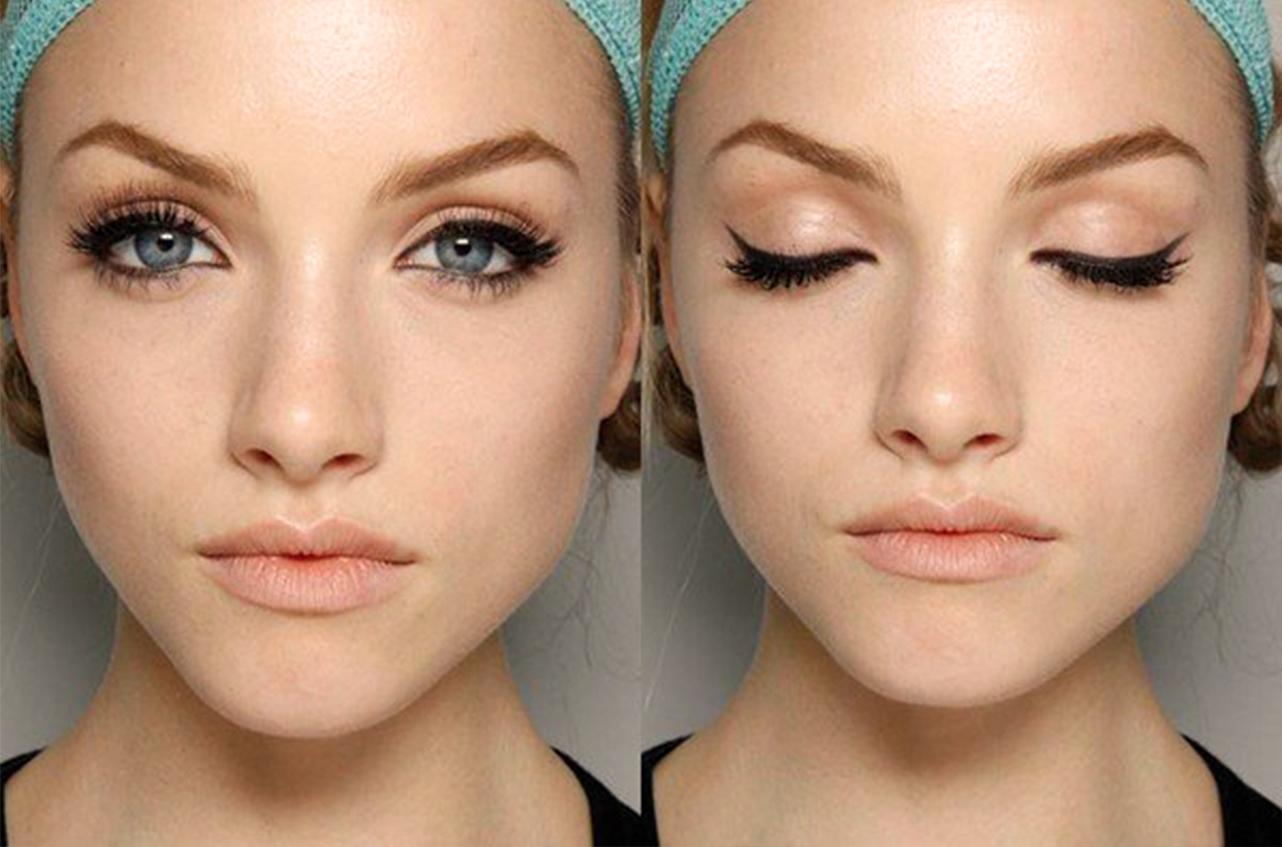 Как с помощью макияжа удлинить глаза